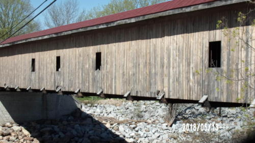 Covered Bridge Near